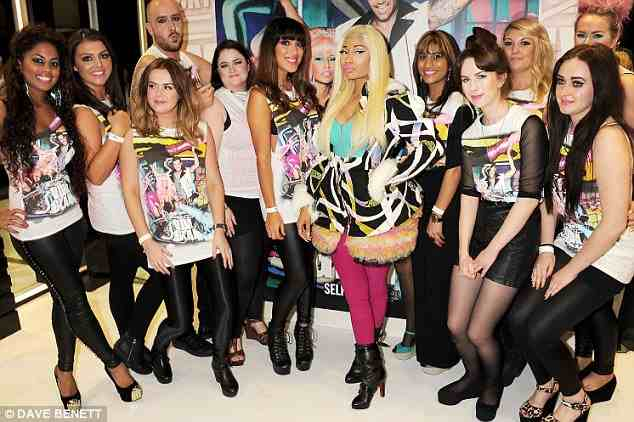 NICKI MINAJ AT SELFRIDGES Hot Shots: Nicki Minaj Launches Lip Glass In London
