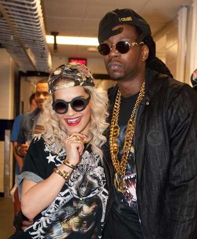 RITA ORA 2CHAINZ Hot Shots: Rita Ora Enjoys Wild Night With 2 Chainz & Kreayshawn