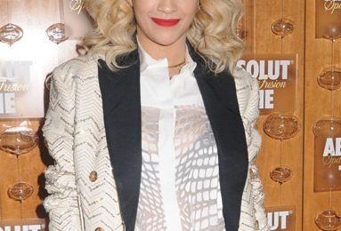 Hot Shots: Rita Ora & Solange Party At 'Absolut Tune Launch'