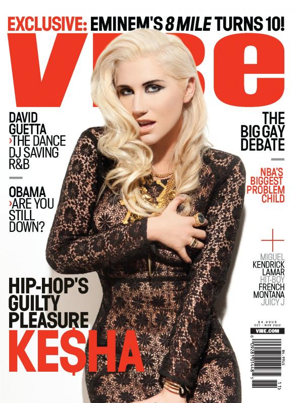 VIBE KESHA COVER 1 01 Hot Shots: Ke$ha Covers Vibe / Explains Reflective New Album
