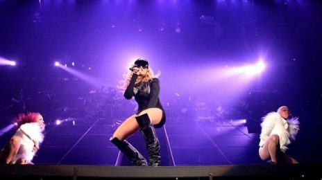 Watch:  Beyonce Beams In Surprise Barclays Center Performance *Updated*