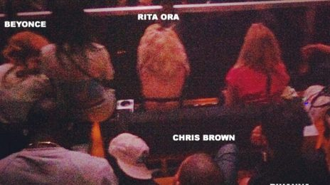 Hot Shot: Chris Brown And Rihanna Heat Up With Beyonce & Rita Ora