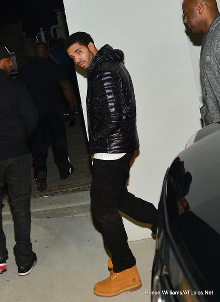 drake 90 Hot Shots: Drake Celebrates Birthday In Atlanta Club...With His Dad