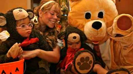 Hot Shots: Mariah Celebrates Halloween With 'Dem Babies'
