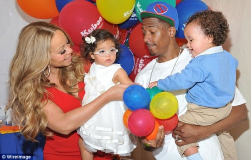 mariah carey twins e1349614552601 Hot Shots: Mariah Carey Enjoys Joyride With The Family