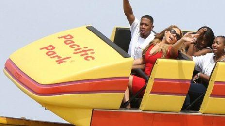 Hot Shots: Mariah Carey Enjoys 'Joyride' With The Family