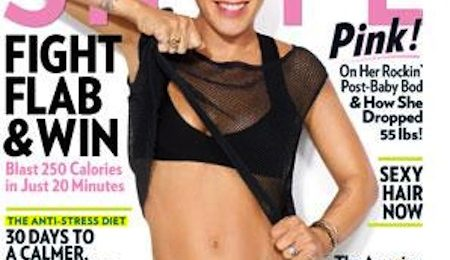 Pink Shows Off For 'Shape' Magazine