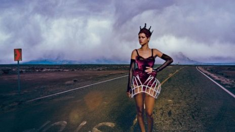 Hot Shots: Rihanna Razzles & Dazzles In 'Vogue' Shoot