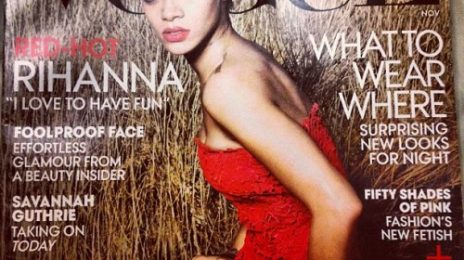 Hot Shot: Rihanna Covers 'Vogue'