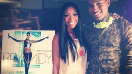 Hot Shot: Brandy Meets That Grape Juice In West Hollywood