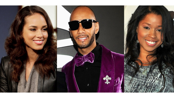 031312 music love triangles alicia keys swizz beatz mashonda Mashonda Tells Alicia Keys: Swizz & I Were Together