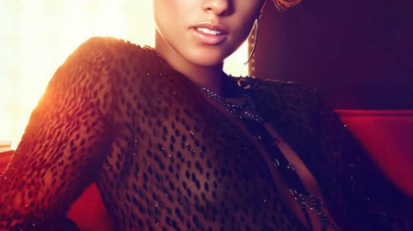 Girl On Fire: Alicia Keys Blazes 'Good Morning America' Stage