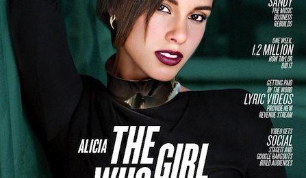 Alicia Keys Covers Billboard Magazine, Blazes 'Jimmy Kimmel Live' With 'Girl On Fire'