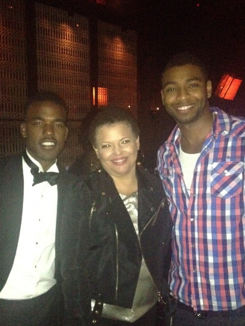Luke James Debra Lee Cullen Jones After Party Soul Train Awards e1352764555668 Luke James Covers Prince Magazine / Reveal More Video Shots