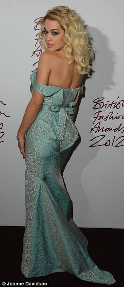 RITA ORA BRITAIN FASHION AWARDS 2