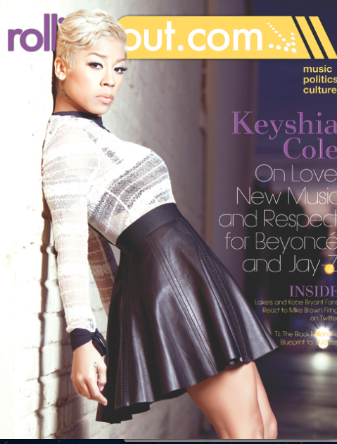 ScreenShot2012 11 16at84501AM Hot Shot:  Keyshia Cole Covers Rolling Out *Updated*