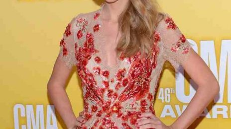 Hot Shots: Taylor Swift Takes 'RED' To The 'CMA's