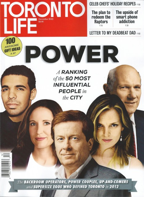 DRAKE TORONTO LIFE POWER LIST