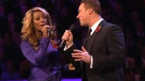 Alexandra Burke Soars At Royal Remembrance Concert
