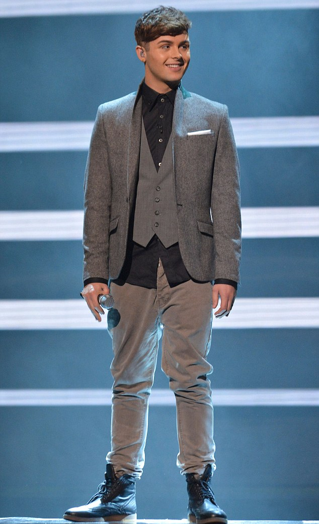 The X Factor Live on ITV1, Fountain Studios, London, Britain - 17th November 2012.