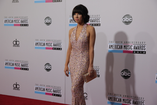 carly rae ama 2012 American Music Awards 2012: Red Carpet