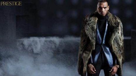 Hot Shots: Chris Brown Suits Up For 'Prestige'