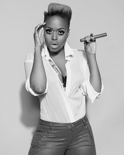 chrisette 112bw Behind the Scenes:  Chrisette Michele Shoots Charades Video