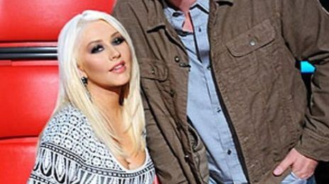 Watch: Christina Aguilera & Blake Shelton Perform 'Just A Fool' On The Voice