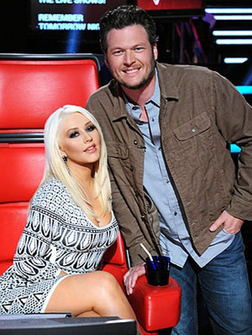 christina aguilera blake just a fool e1353174214205 Watch: Christina Aguilera & Blake Shelton Perform Just A Fool On The Voice
