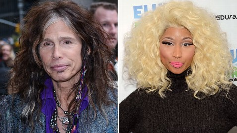 gty steven tyler nicki minaj thg 121127 wblog Weigh In:  Was Nicki Minaj Right To Slam Steven Tyler For Racist Comments?