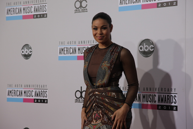 jordin sparks ama 2012 American Music Awards 2012: Red Carpet