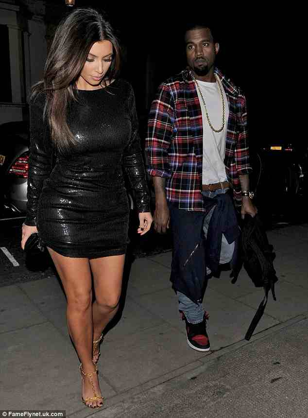 kanye and kim hakkasan 3 Hot Shots: Kanye West Dines At Londons Hakkasan