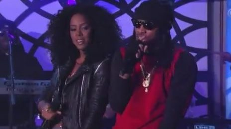 Watch: Future & Kelly Rowland Perform 'Neva End' On 'Kimmel'