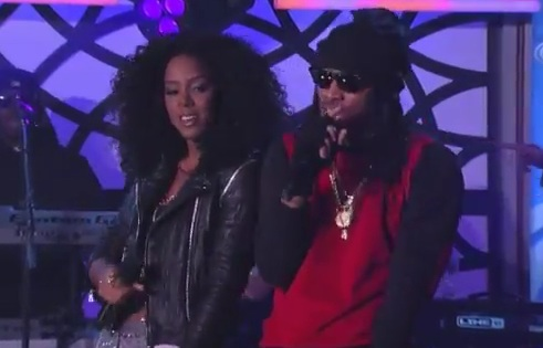 kelly rowland future kimmel Watch: Future & Kelly Rowland Perform Neva End On Kimmel