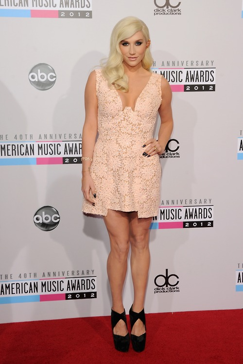 kesha ama 2012 thatgrapejuice American Music Awards 2012: Red Carpet