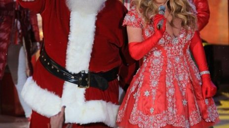 Mariah Carey Performs At Rockefeller Center / Preps 'Merry Christmas II You' Re-Release