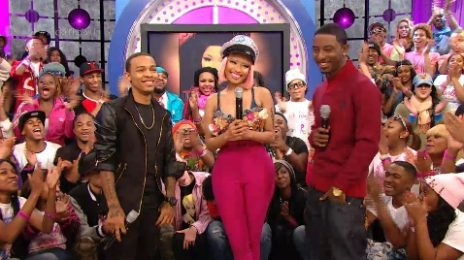 Watch: Nicki Minaj Visits '106 & Park'