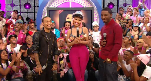 nicki minaj 106 park nov2012 Watch: Nicki Minaj Visits 106 & Park