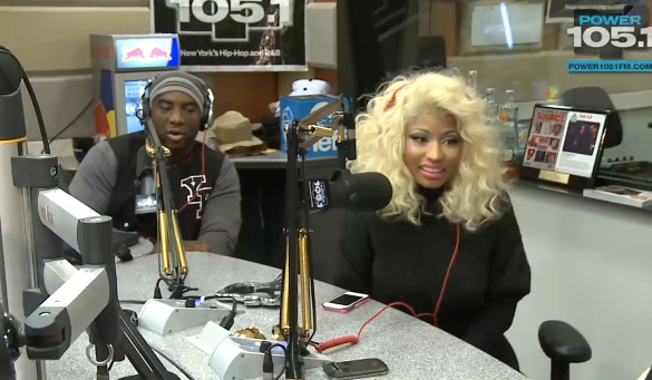 nicki minaj breakfast club Watch: Nicki Minaj Gets Grilled On The Breakfast Club