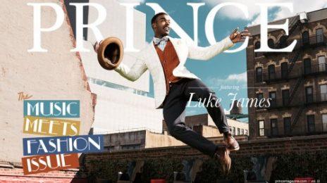 Luke James Covers Prince Magazine / Reveal More Video Shots