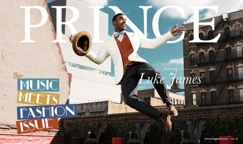 prince magazine 2012 luke james cover e1352760678388 Luke James Covers Prince Magazine / Reveal More Video Shots