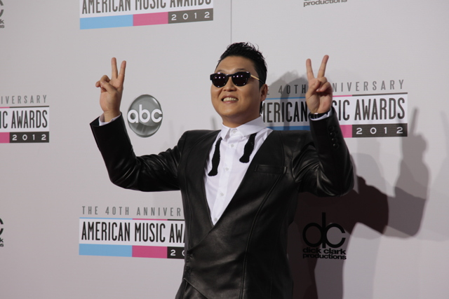 psy ama 2012 American Music Awards 2012: Red Carpet