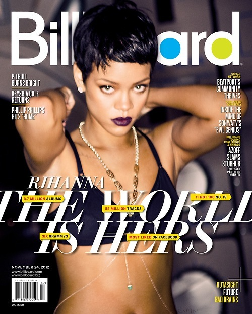 rihanna billboard Hot Shot: Rihanna Covers Billboard Magazine