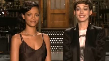 Watch: Rihanna Promotes 'SNL' Performance