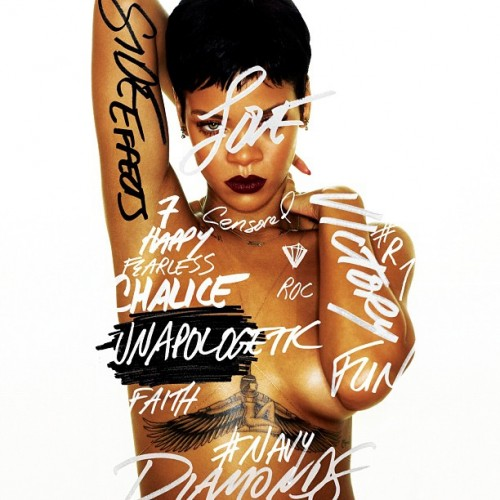 rihanna unapologetic cover e1352188090707 Rihanna Unveils Official Unapologetic Tracklisting / Collaborations