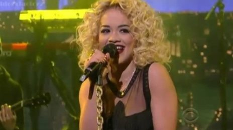 Watch: Rita Ora Rocks 'Letterman' With 'R.I.P'