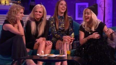 Hilarious: Rita Ora & The Spice Girls Visit 'Alan Carr'