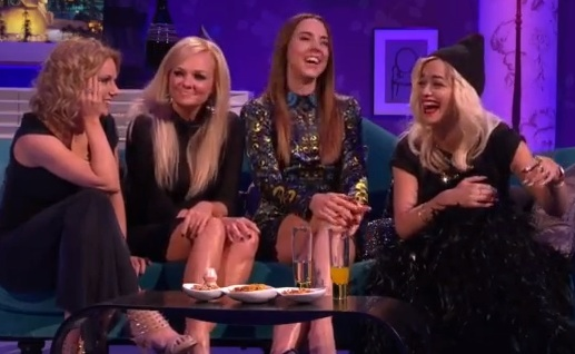 rita ora spice girls1 Hilarious: Rita Ora & The Spice Girls Visit Alan Carr