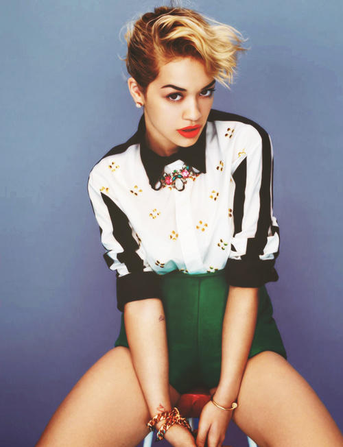rita ora vogue New Video: Rita Ora   Radioactive