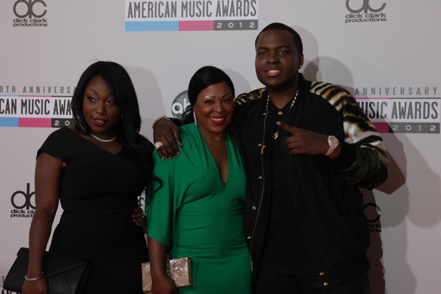 sean kingston ama 2012 American Music Awards 2012: Red Carpet